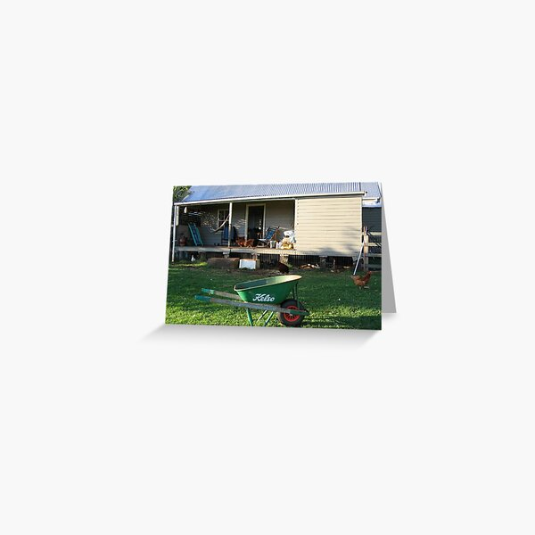'The farm - Dunoon' Greeting Card