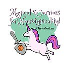 Magical Warriors for Neurotypicality by EWAutismLibrary