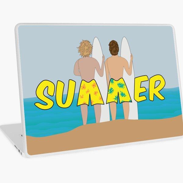 Summer Surfers Laptop Skin