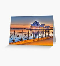 Grungy HDR Greeting Card
