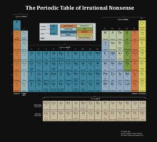 The Periodic Table Of Irrational Nonsense (Dark)