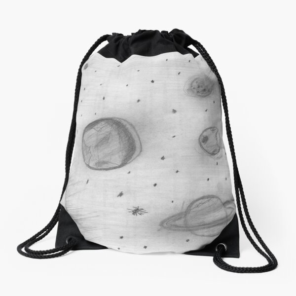 Astronomy, Cosmology, and Astrophysics Class. Student's Art Project. Drawstring Bag