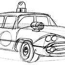 Police Car by OscarEA