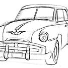 Generic 50's Sedan by OscarEA