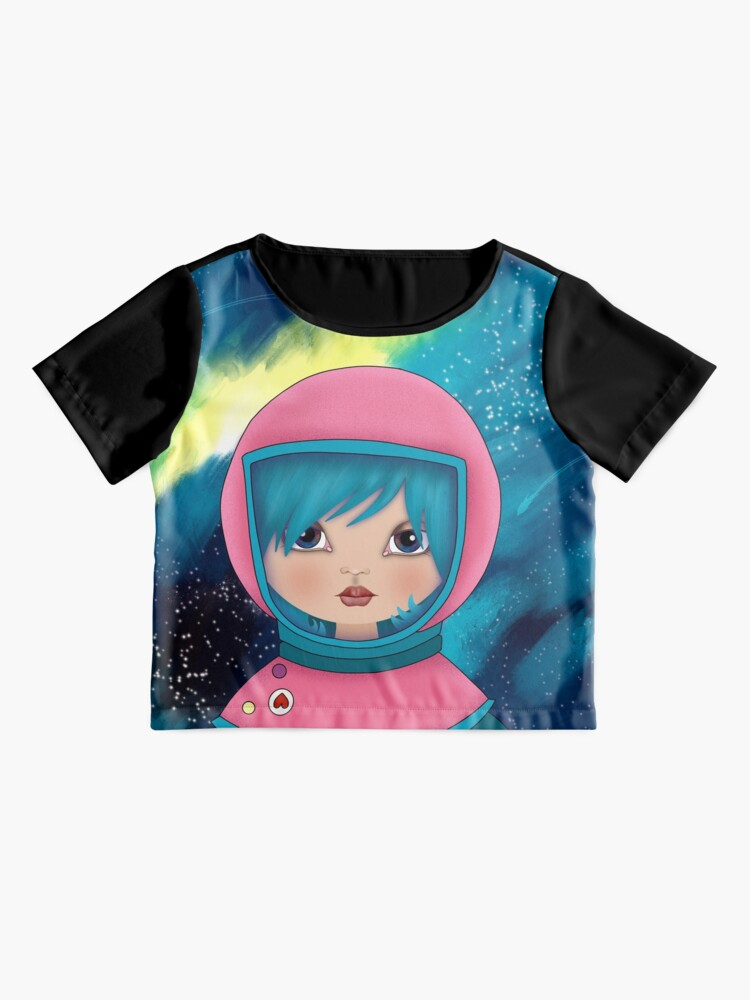 Alternate view of asteroidday - Space Girls Wear Pink Chiffon Top