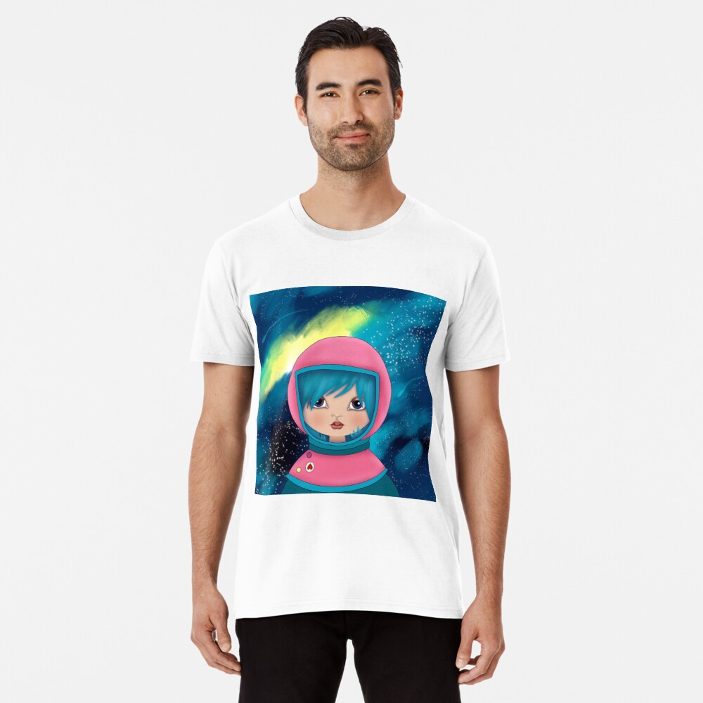 asteroidday - Space Girls Wear Pink Premium T-Shirt