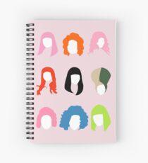 Cuaderno de espiral El cabello de Nicki