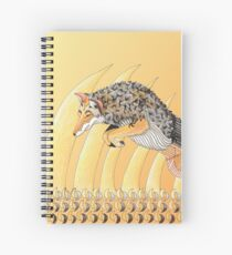Coyote Totem Spiral Notebook