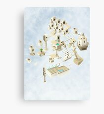 Creating Space - 1 Canvas Print