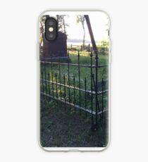Pioneer Cemetery at Itasca State Park in Minnesota iPhone Case