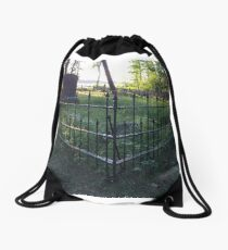Pioneer Cemetery at Itasca State Park in Minnesota Drawstring Bag