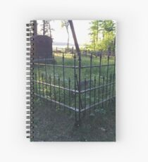 Pioneer Cemetery at Itasca State Park in Minnesota Spiral Notebook