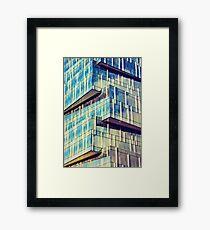 Urban Matchstick Framed Print