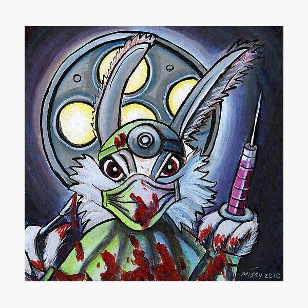 Dr. Bunny Photographic Print