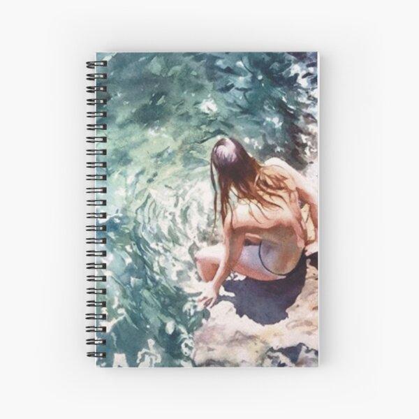 #Fun - #Watercolor #Paintings of #Artist Marcos Beccari Spiral Notebook