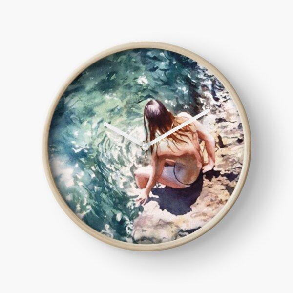 #Fun - #Watercolor #Paintings of #Artist Marcos Beccari Clock
