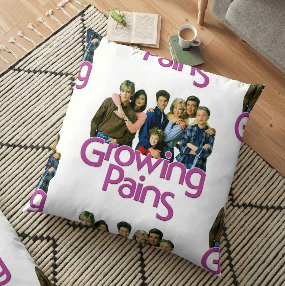 Growing Pains Throwback Alan Thicke Tribute Floor Pillow