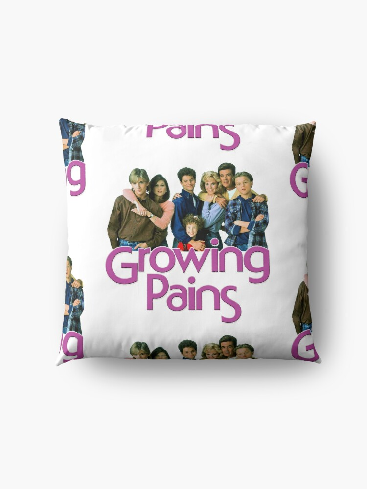 Alternate view of Growing Pains Throwback Alan Thicke Tribute Floor Pillow