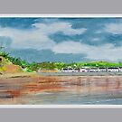 Amroth from the tide line by WILT