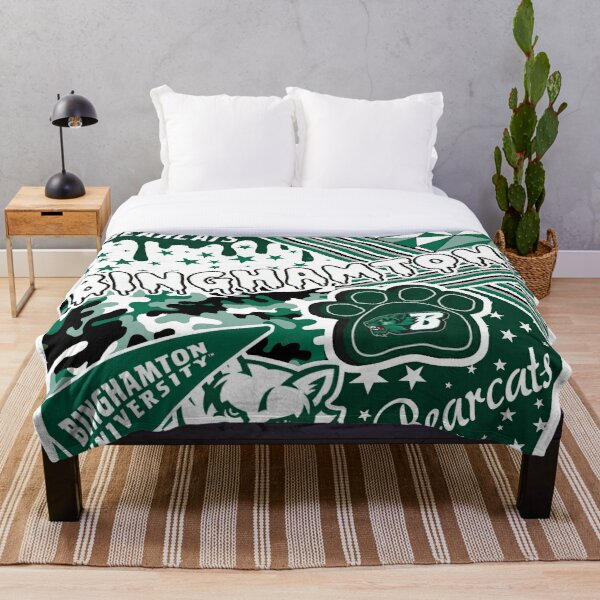 Binghamton University  Throw Blanket
