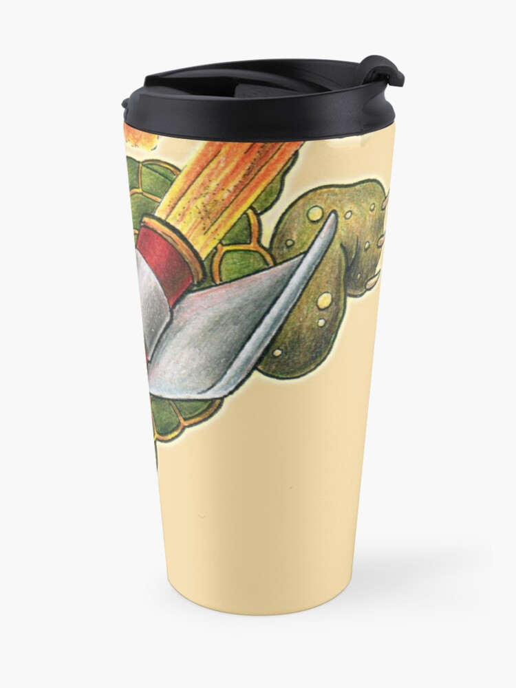 Alternate view of Rocket Tortoise! Travel Mug