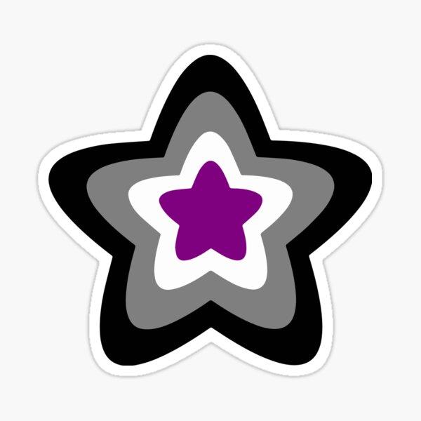 Ace Pride Star Sticker