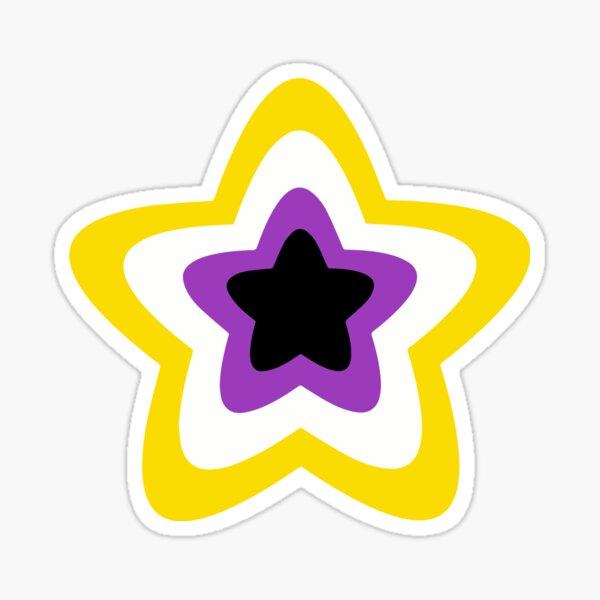 Non-Binary Pride Star Sticker