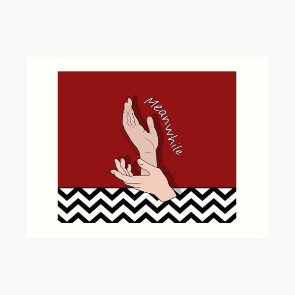 Twin Peaks - Meanwhile Art Print
