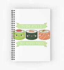 Sushi Rollen nicht Gender Rollen Spiralblock