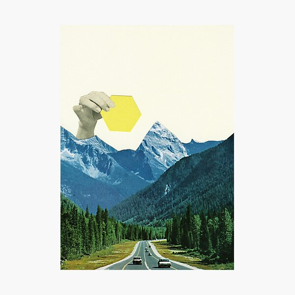 Moving Mountains Photographic Print