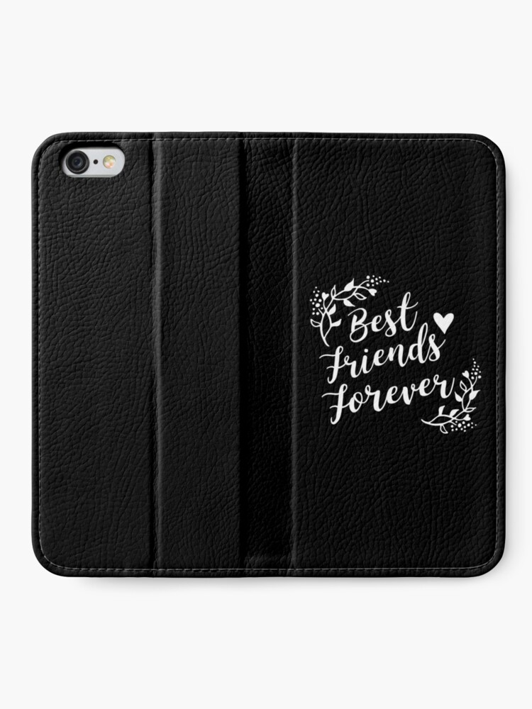 Alternative Ansicht von Best Friends Forever BFF Goals Besties Gift Idea iPhone Flip-Case