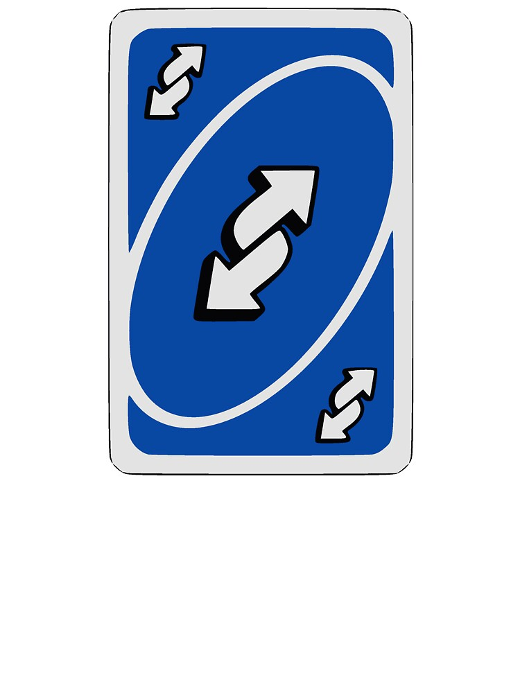 "Blue Uno Reverse Card"" Kids T-Shirt by SnotDesigns 