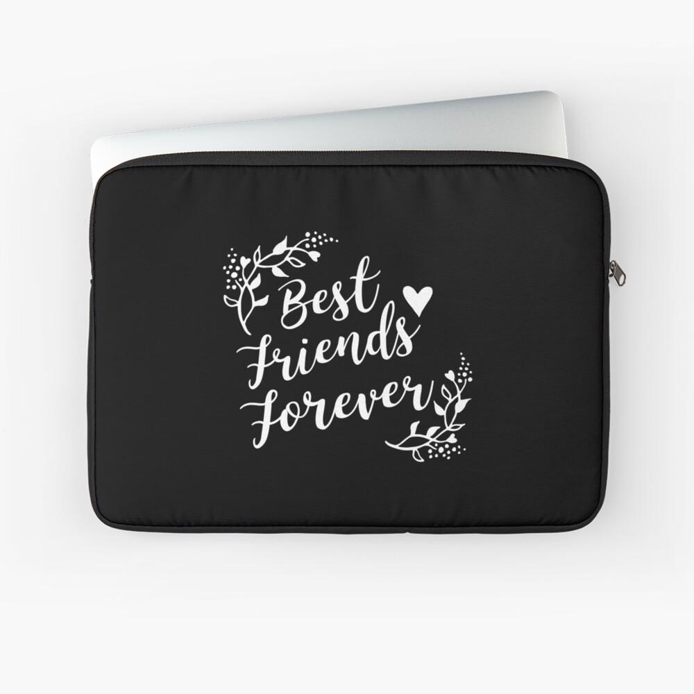 Best Friends Forever BFF Goals Besties Gift Idea Laptoptasche