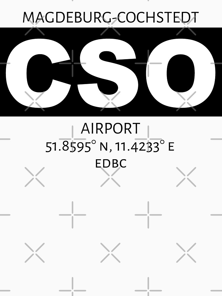Magdeburg-Cochstedt Airport CSO by AvGeekCentral