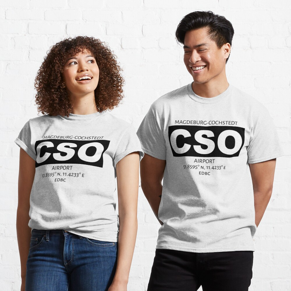 Magdeburg-Cochstedt Airport CSO Classic T-Shirt