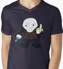 Adipose as the 9th Doctor Men's V-Neck T-Shirt