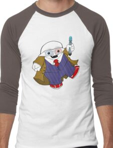 Adipose as the 10th Doctor Men's Baseball ¾ T-Shirt