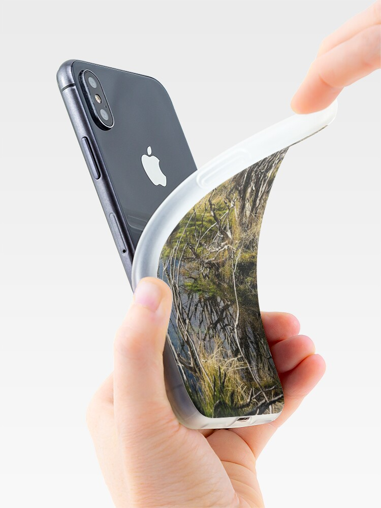 Alternate view of Devil's gullet wetlands iPhone Case & Cover