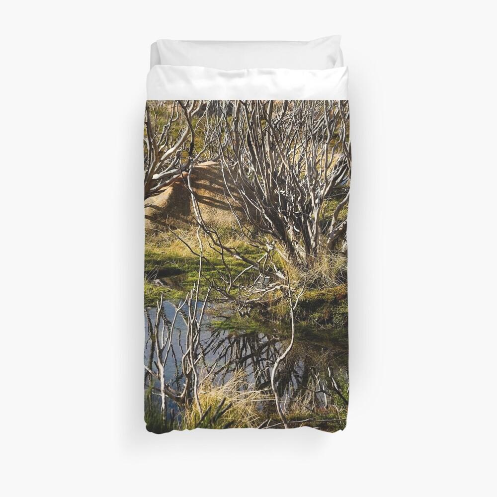 Devil's gullet wetlands Duvet Cover