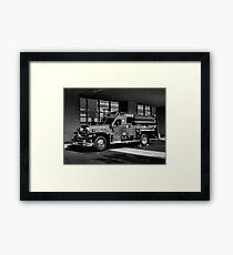 Fireman's Antique Framed Print