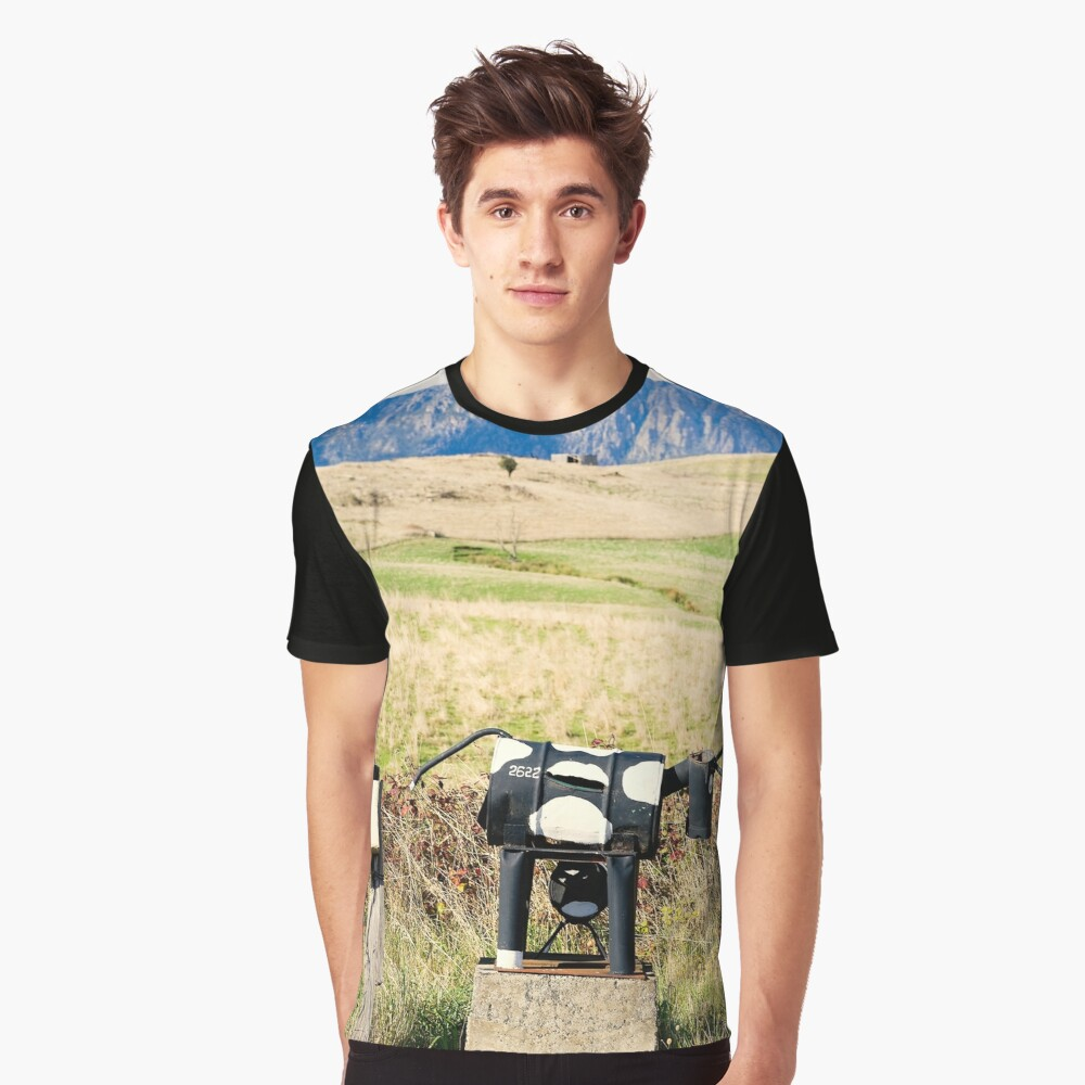 Wilmot letterboxes horizontal Graphic T-Shirt