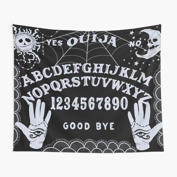 Ouija Art Collection, Occult Themed Tapestry