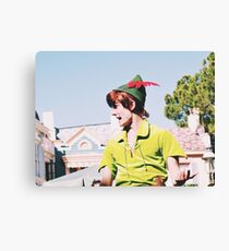 Peter Pan On Soundsational Parade  Canvas Print
