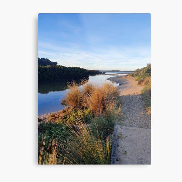 A Tidal Creek Metal Print