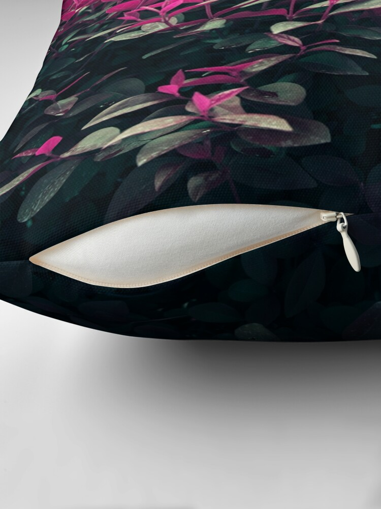 Alternate view of Pink Spring Throw Pillow