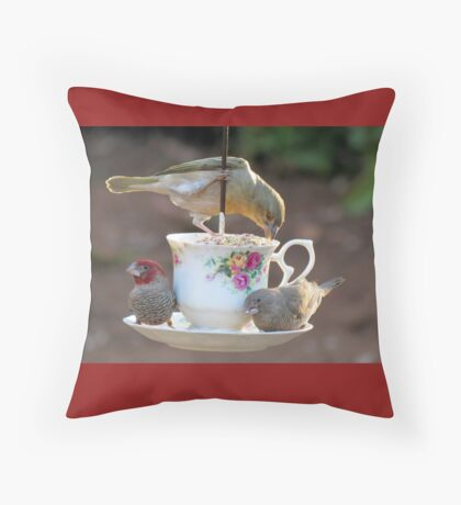 Time for breakfast!  Throw Pillow
