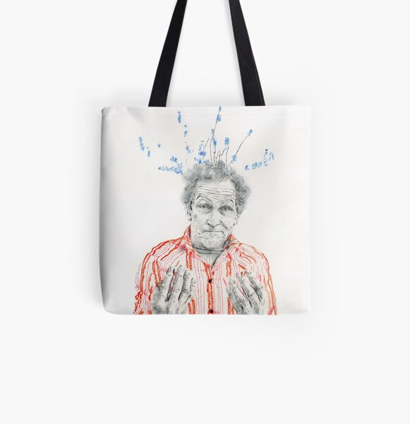Monty Don All Over Print Tote Bag