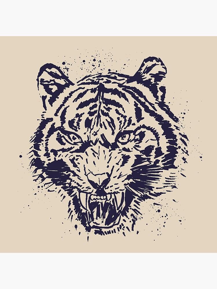 Tiger Illustration by Chocodole
