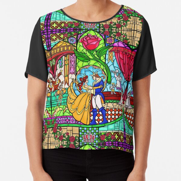 Patterns of the Stained Glass Window Chiffon Top