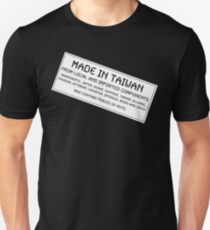 Traces Of Nuts - Taiwan, Funny T-Shirt